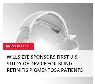 wills eye hospital study device for the blind